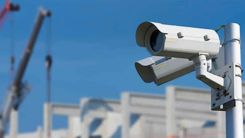 Construction site cloud video surveillance